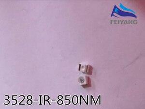 Image 1 - 2000 stücke Freies verschiffen 850nm IR SMD LED diode 3528 Infrarot led 1,4 1,5 V CCTV licht diode