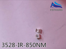2000pcs Free shipping 850nm IR SMD LED diode 3528 Infrared led 1.4 1.5V CCTV light diode