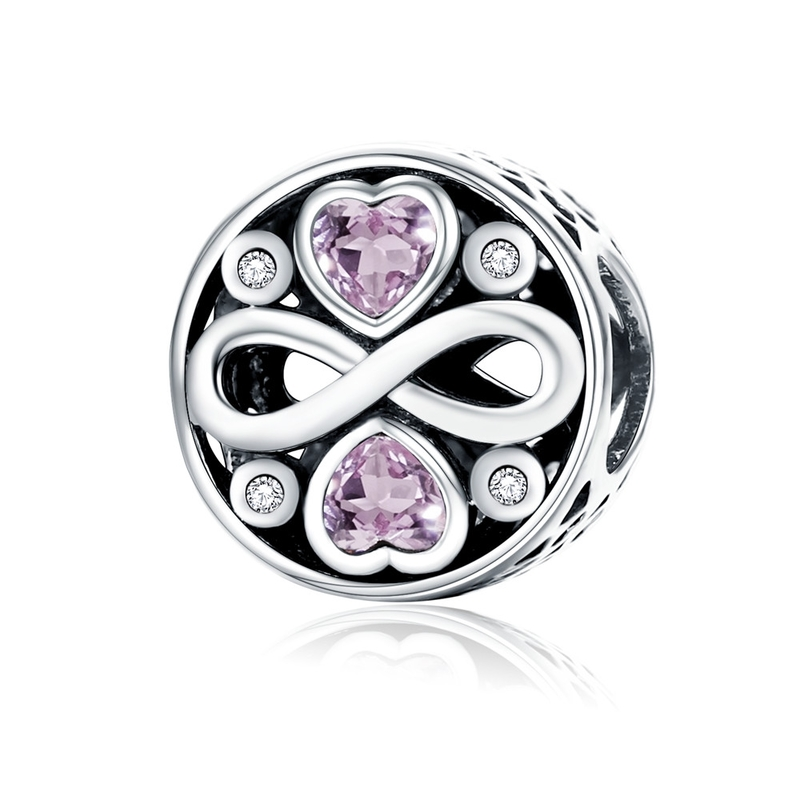 2018 Hot 100% 925 Sterling Silver Full Of Love Heart Bead Fit - Bisutería - foto 4
