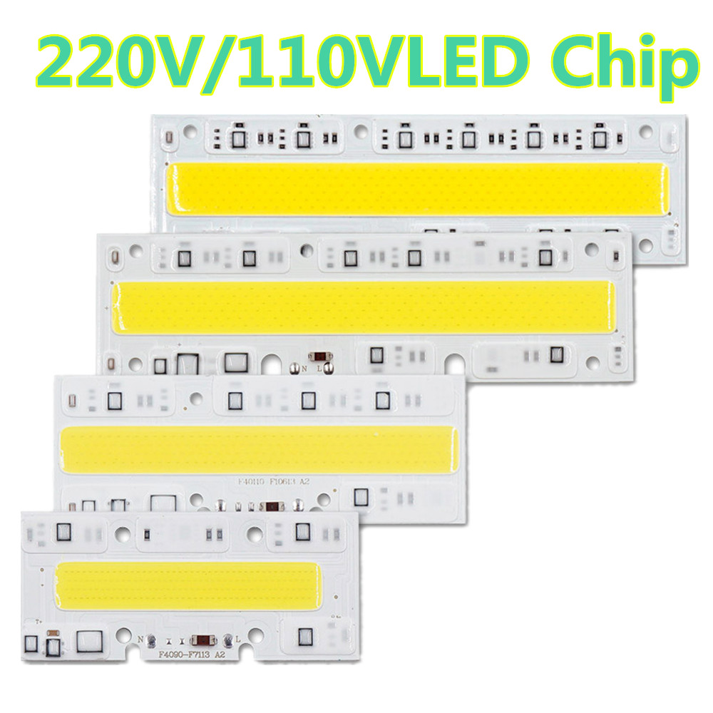 LED COB Lamp Chip 30W 50W 70W 100W 150W 220V 110V Input Smart IC Driver Fit For DIY LED Floodlight Spotlight Cold/Warm White [mingben] led cob chip 20w 30w smart ic 220v 110v input ip65 integrated driver easy to diy for floodlight cold white warm white