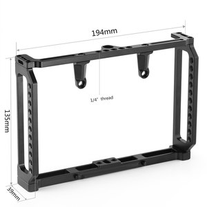 Image 3 - SmallRig 7 Inch Monitor Cage for Feelworld T7 703 703S and F7S Monitor Protective Cage With Nato Rail Threading Holes   2233