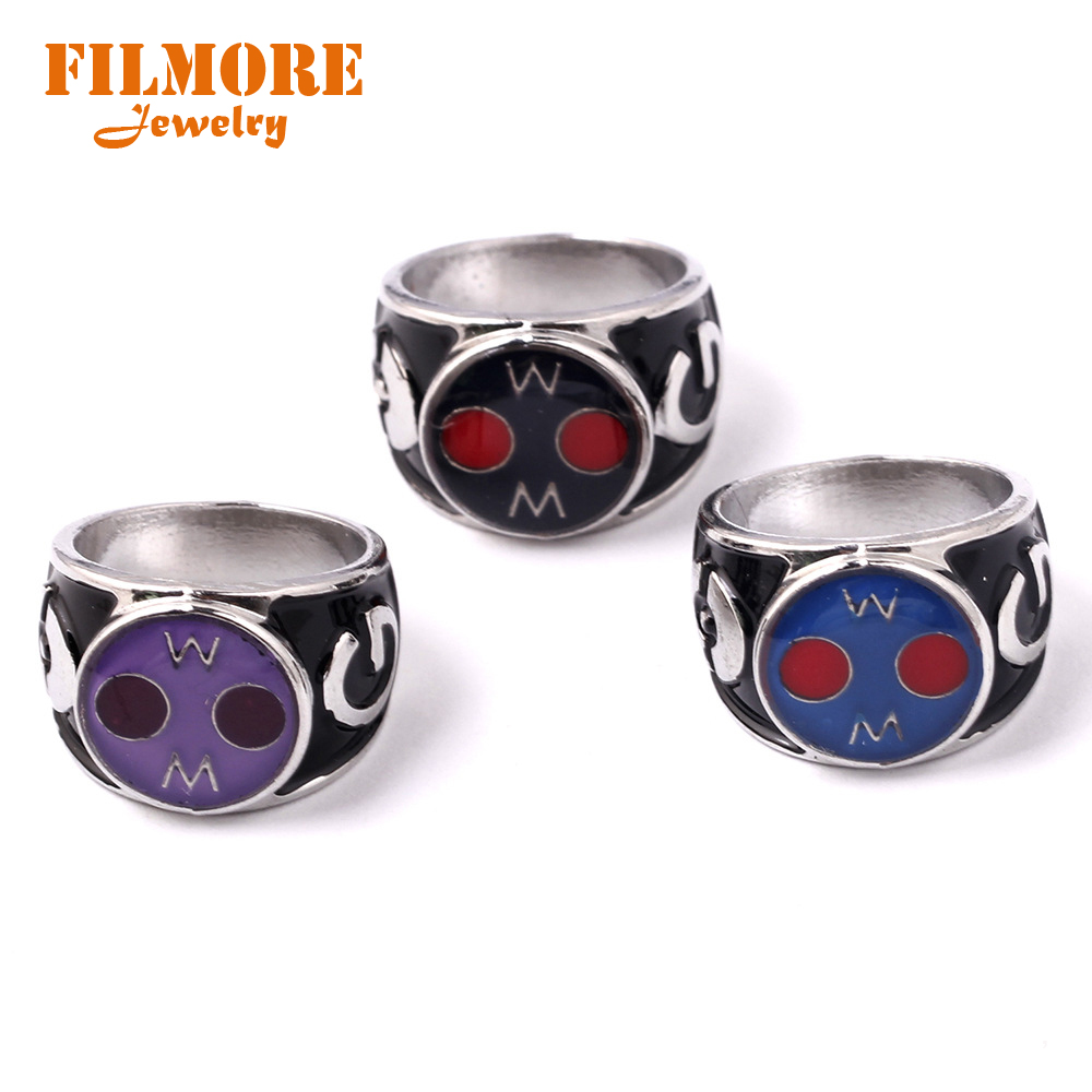 New Arrival Game Pokemon Go Silver Rings for Game Fans Jewelry US Size 8 Pocket Monster Zinc Alloy Ring Accessories Anillos