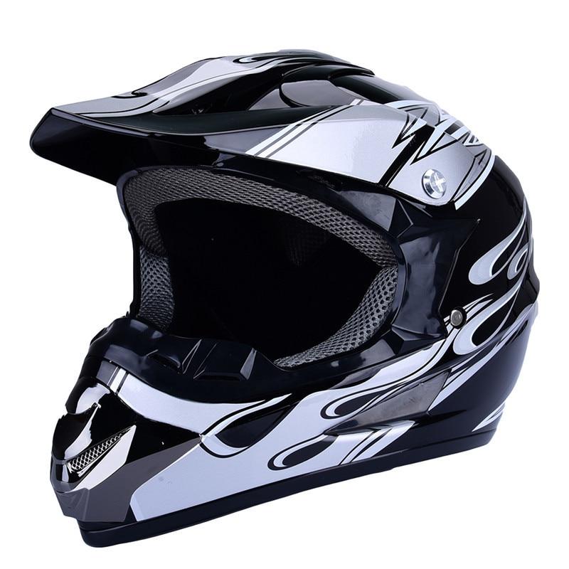 Motocross Full Face Helmet Off Road Profesionální Rally Racing - Příslušenství a náhradní díly pro motocykly