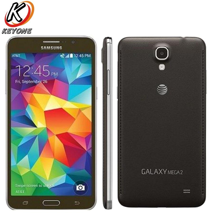 Original Samsung Galaxy MEGA 2 G750A Mobile Phone 1 5GB RAM 16GB ROM 5 1 Quad