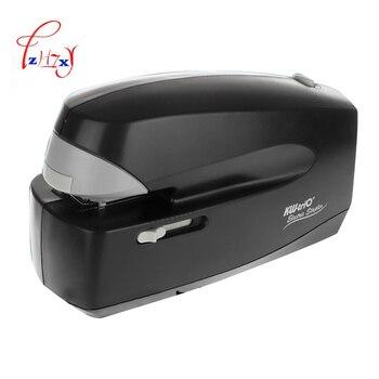 Автоматический Электрический степлер бумажный скрепляющий станок офисный или школьный стационарный офисный переплет 1 шт.