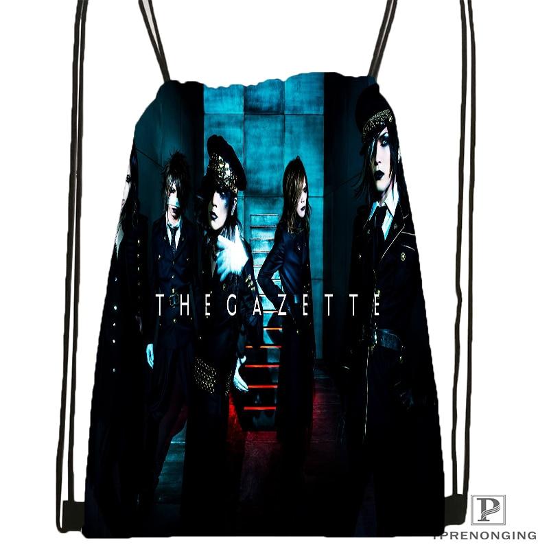 Custom Yruha the Gazette Drawstring Backpack Bag Cute Daypack Kids Satchel Black Back 31x40cm 180531 04