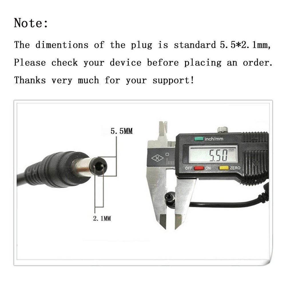 AC 100 240V to DC 5V 2A Power Supply Adapter with DC Connector Jack 5 5 x 2 1mm for TV Box LED Strip Lights Audio Video Router in AC DC Adapters from Home Improvement