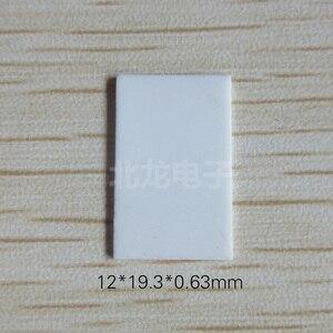 Image 1 - 100 adet 220 Gözenekli alümina seramik Levha 12*19.3*0.63mm Yalıtımlı Seramik Isı Dağıtıcı 96 Malzeme