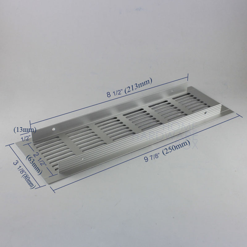 250x80mm Aluminum Air Vent Cover Louver Air Ventilation Panel Shoes Cabinet  Rectangle In Flanges From Home Improvement On Aliexpress.com | Alibaba Group