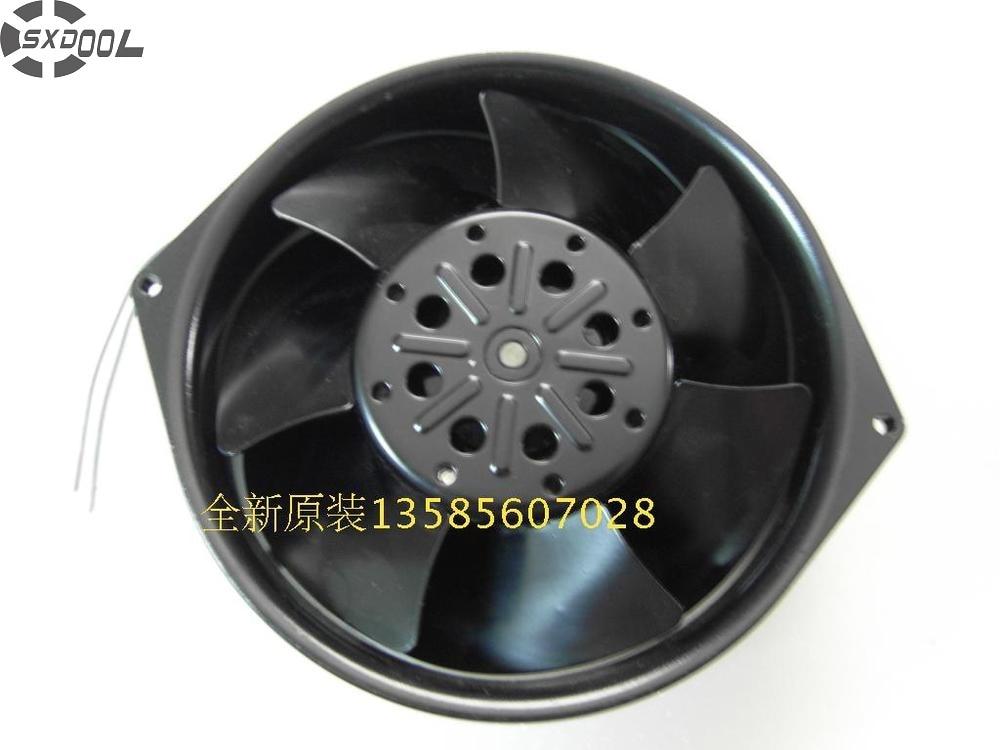 SXDOOL Blowers U7556KX-TP 15055 220V temperature fan all-metal industiral cooling fan dhl free ut655d tp[f15] ac 220v 43w 40w 3250rpm 17255 17cm 172 150 55mm 2 wires full metal high temperature cooling fan