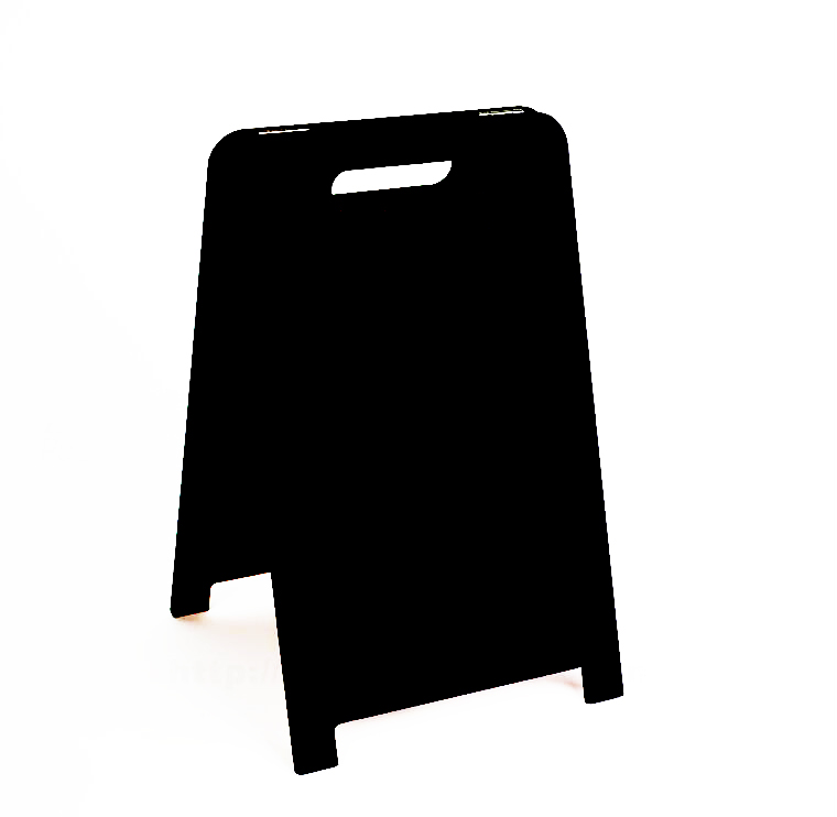 Desktop Advertising Blackboard Message Board Countertop Poster Menu Billboard Double Sided Table Sign Stand Signage Plate Stand