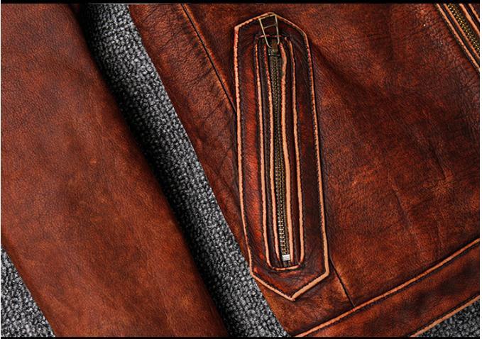 HTB108HsUhYaK1RjSZFnq6y80pXa7 Free shipping.Plus size Brand Classic style cowhide jacket,mens 100% genuine leather jackets,biker vintage quality coat.sales