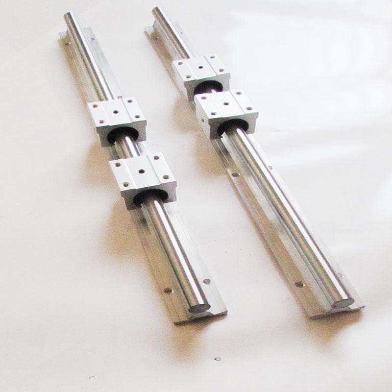 ФОТО linear bearing slide SBR12-600mm (2rails+4 blocks)