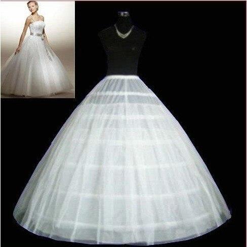 Nueva Hot Sale barato 6 Hoop 2 capas de boda del vestido nupcial del vestido enaguas de la enagua crinolina accesorios C2