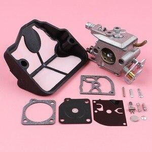 Image 4 - Carburateur Luchtfilter Carb Rebuild Reparatie Kit Voor Husqvarna 36 41 136 137 141 142 Kettingzaag Onderdeel Zama C1Q W29E