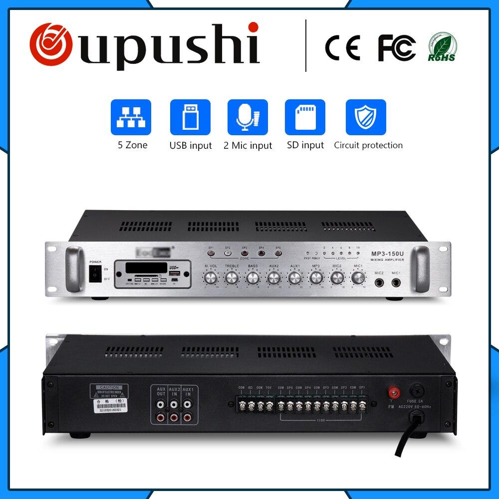 Amplificateur de LED 60 w avec carte SD USB Mp3 FM
