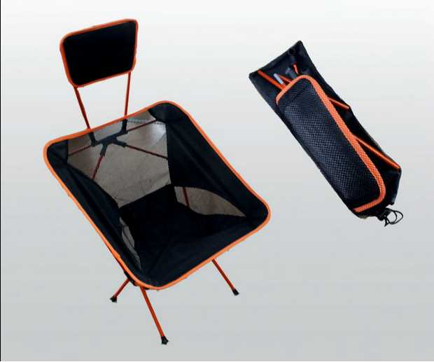 Fishing Chair Portable Folding Camping Stool Headrest Pillow Ultra Portability Head Max Load Bearing 145kg