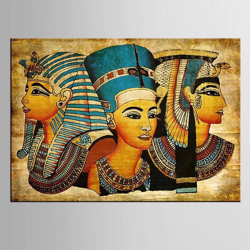 1 pieces / set Postmodern wall art abstrak modern Mesir wanita potret - Dekorasi rumah - Foto 1