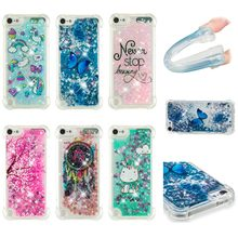 eb14090747 Dynamic Glitter Liquid Quicksand Soft Silicone Butterfly TPU Cover For iPod  Touch 5 6 Protective Case For iPod touch5 touch6