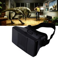 Google Cardboard Virtual Reality VR 3D Glasses 3D Movies Games TV Glasses With Head Strap For