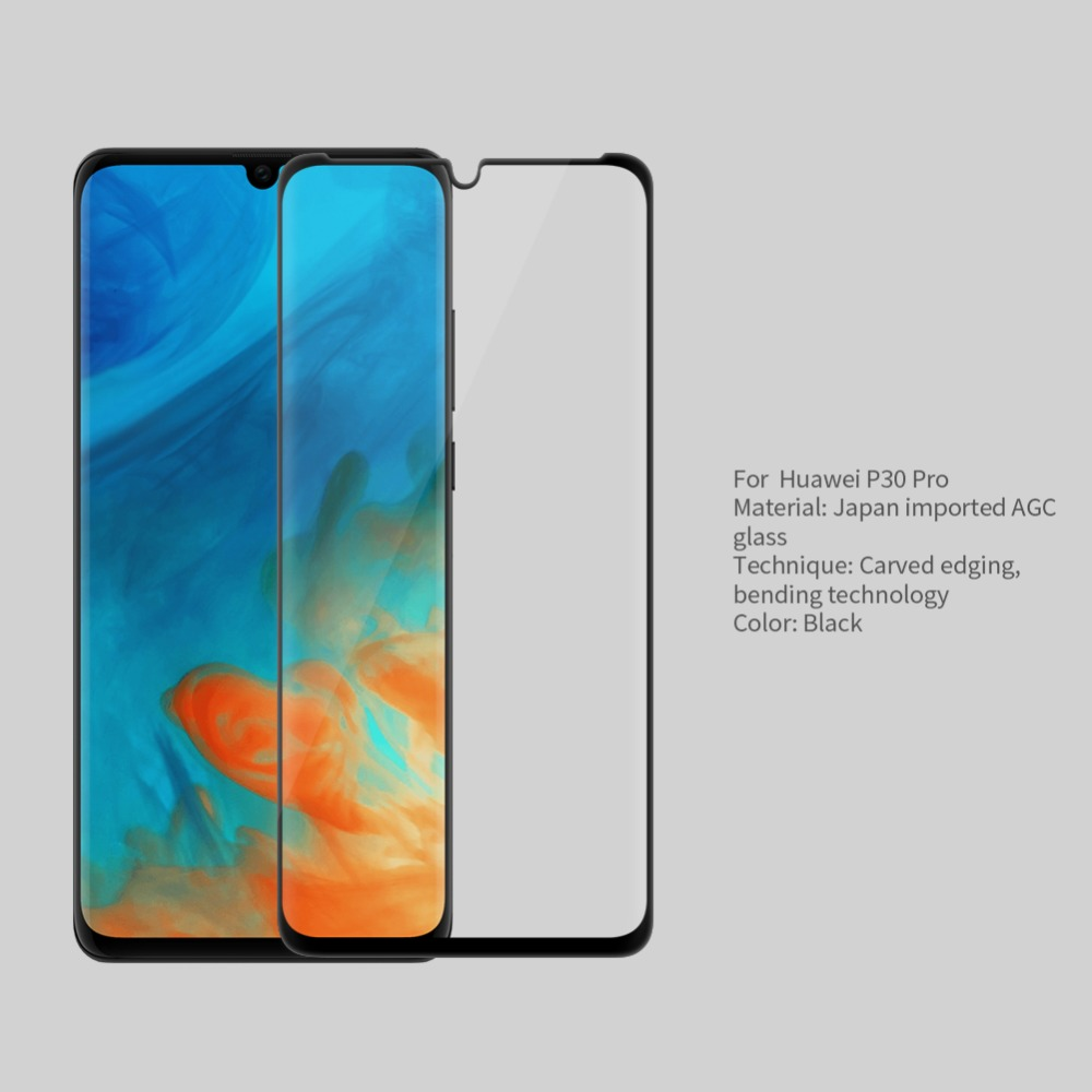 Image 3 - NILLKIN Amazing 3D CP+ MAX Full Coverage Nanometer Anti Explosion 9H Tempered Glass Screen Protector For Huawei P30 Pro-in Phone Screen Protectors from Cellphones & Telecommunications