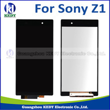 1pcs No dead pixel LCD Touch screen Digitizer Assembly For Sony Xperia Z1 L39 L39H LCD C6902 C6903 C6906