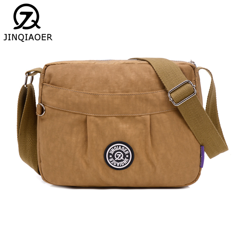 Lady Casual Handbag Light Waterproof Shoulder Crossbody Bag Women Portable Travel Messenger Bag Brand Designer Bolsa Feminina