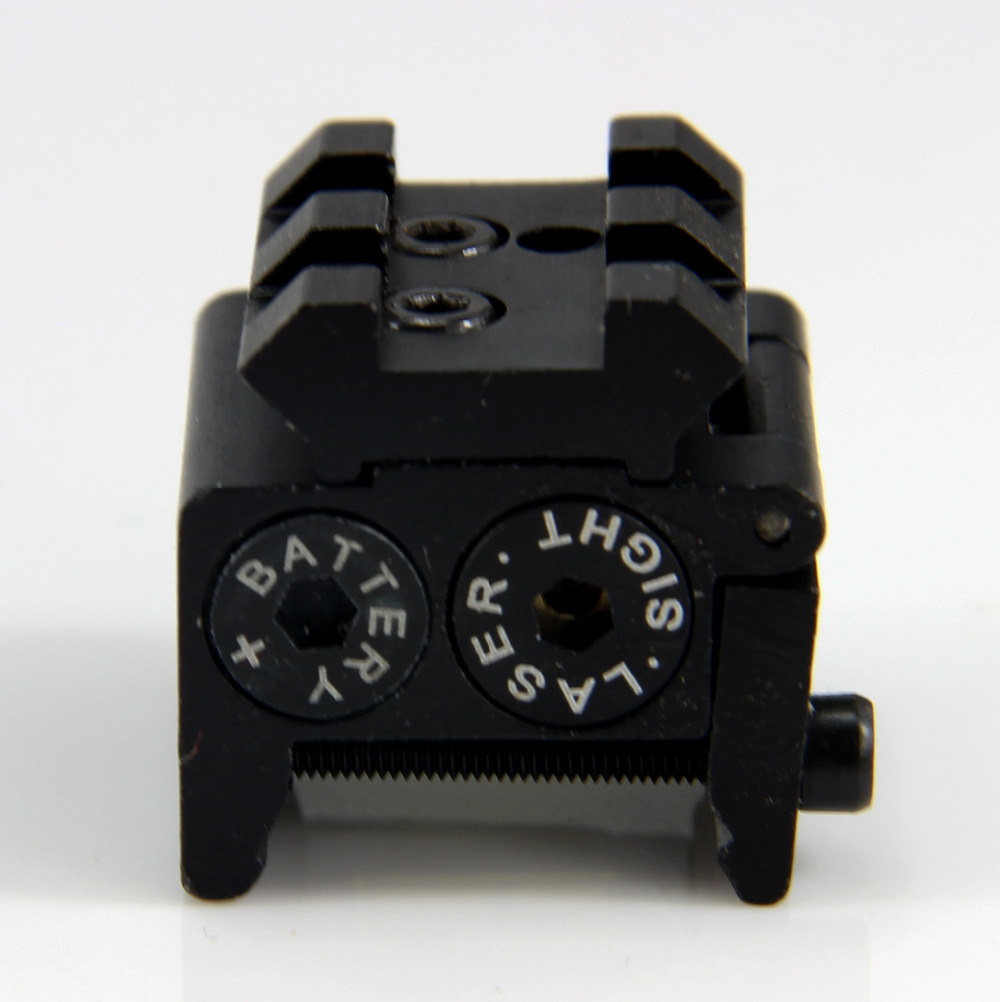 5 pcs Rouge Visée Laser/Mini Airsoft Rouge Laser Optique pointeur/Tactique Laser Glock Avec Rail Pour La Chasse Air pistolet