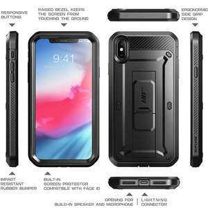 Image 4 - Cover For iPhone Xs Max Case 6.5 inch SUPCASE UB Pro Full Body Rugged Holster Case with Built in Screen Protector & Kickstand