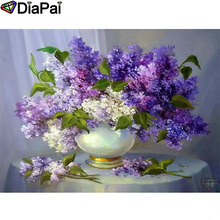 DIAPAI Diamond Painting 5D DIY 100% Full Square/Round Drill Flower landscape Diamond Embroidery Cross Stitch 3D Decor A24846 diapai 100% full square round drill 5d diy diamond painting flower landscape diamond embroidery cross stitch 3d decor a21095