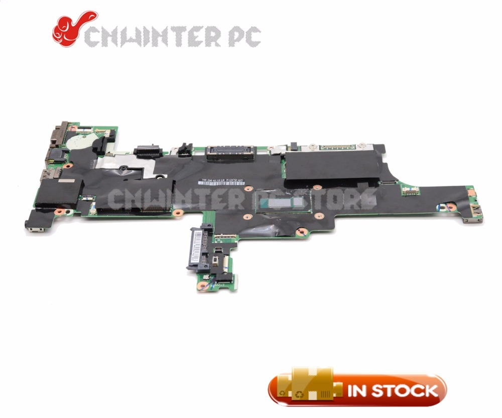 NOKOTION 04X3964 NM-A052 MAIN BOARD For Lenovo thinkpad T440s Laptop Motherboard <font><b>i7</b></font>-<font><b>4600U</b></font> CPU GMA HD4400 DDR3 image