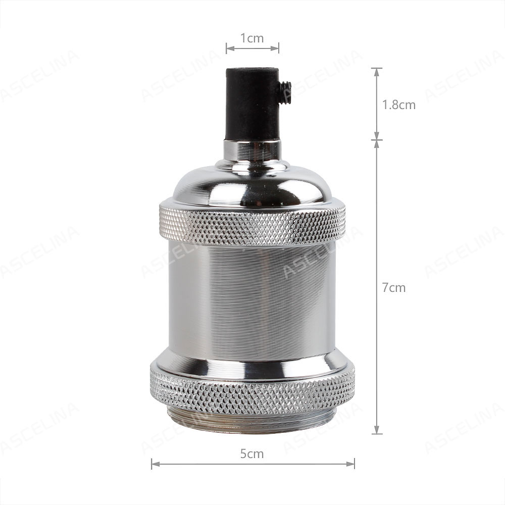 Bases da Lâmpada antigo parafuso base de lâmpada Matéria-prima : Alumínio