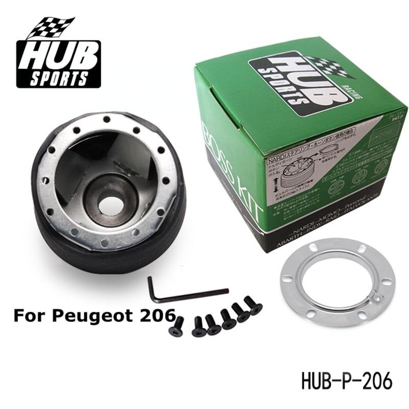 PIVOT-Босс Комплект для Peugeot 206 Руль Концентратор Адаптер HUB-P-206