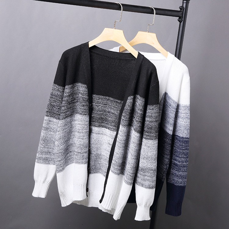 High Quality Mens Sweater New 2015 Autumn Winter Patchwork Cashmere Wool Cardigan Men Sweater Brand Casual V-Neck Mens Clothing (6)