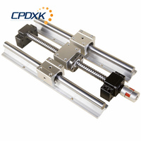 Guide SBR ball screw SFU1605 + 2pcs linear guide SBR16 L400mm +4 pcs SBR16UU + supporter BK12 and BF12 + coupler 8 *10
