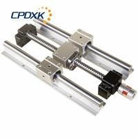 Guide SBR ball screw SFU1605 + 2pcs linear guide SBR16 L400mm +4 pcs SBR16UU + supporter BK12 and BF12 + coupler 8 *10