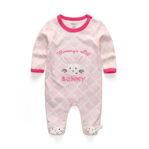 New 2019 Cute Baby Jumpsuit Comfortable Clothing Long Sleeve Baby Girl Clothes Cotton Baby Rompers Roupas de bebe Boy Clothes Multan