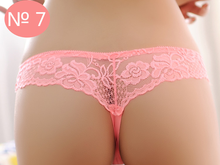 Seamless Underwear, Women's Panties, Thongs Panties, Female G String, Sexy Lace Underwear Lace Panties 10