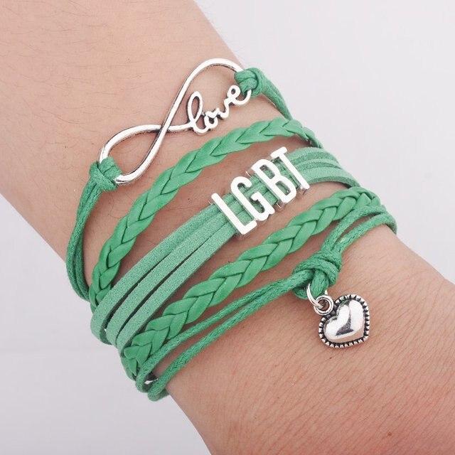 Arc-en-ciel Bracelets//Multicolore//Pride//Amitié Bandes//CDD//frühjahres-Bracelets
