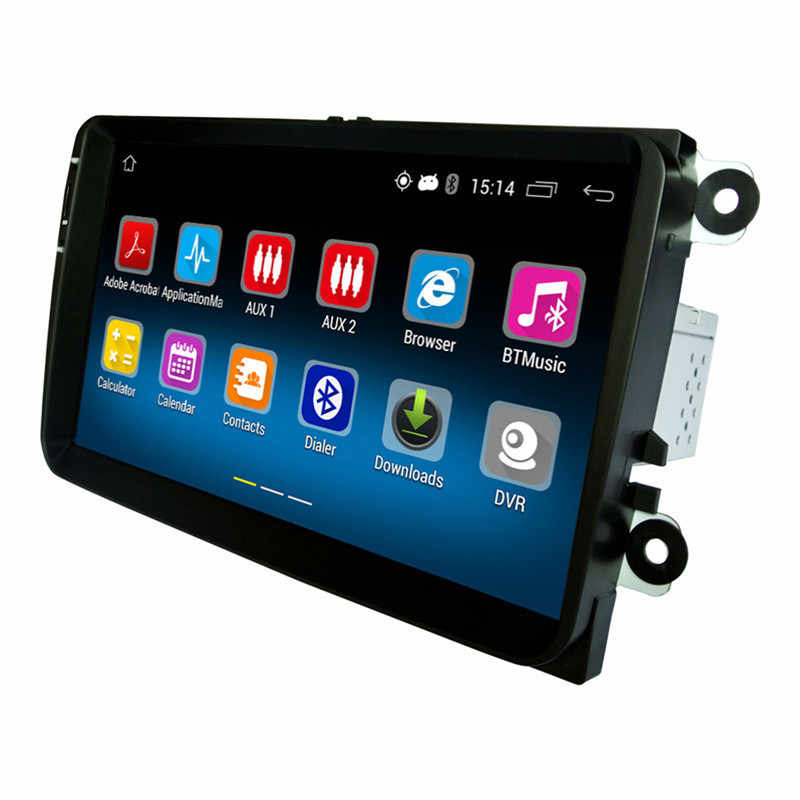 1 Din Android 5,1 автомобиль радио стерео проигрыватель gps 1G DDR3 + 16G NAND флэш-память для VW Jetta T5 EOS Polo Golf Passat MK5 MK6