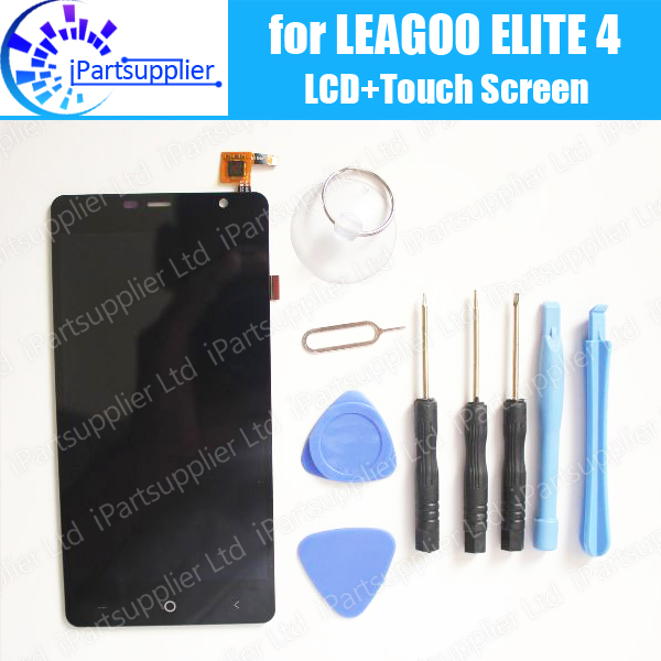 LEAGOO Elite 4 LCD Display+Touch Screen Digitizer Assembly 100% Original LCD Screen Glass Panel Replacement For LEAGOO Elite 4 replacement original touch screen lcd display assembly framefor huawei ascend p7 freeshipping