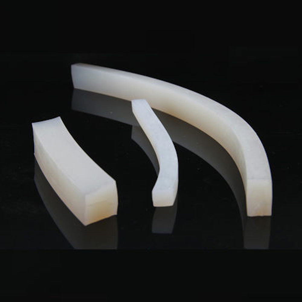Solid Silicone Sealing Strip Seal Bar 6 7 8 10 x 8/10/12/14/15/20/25/30/32/40/50/60mm Anti-aging Heat-resistance Translucent