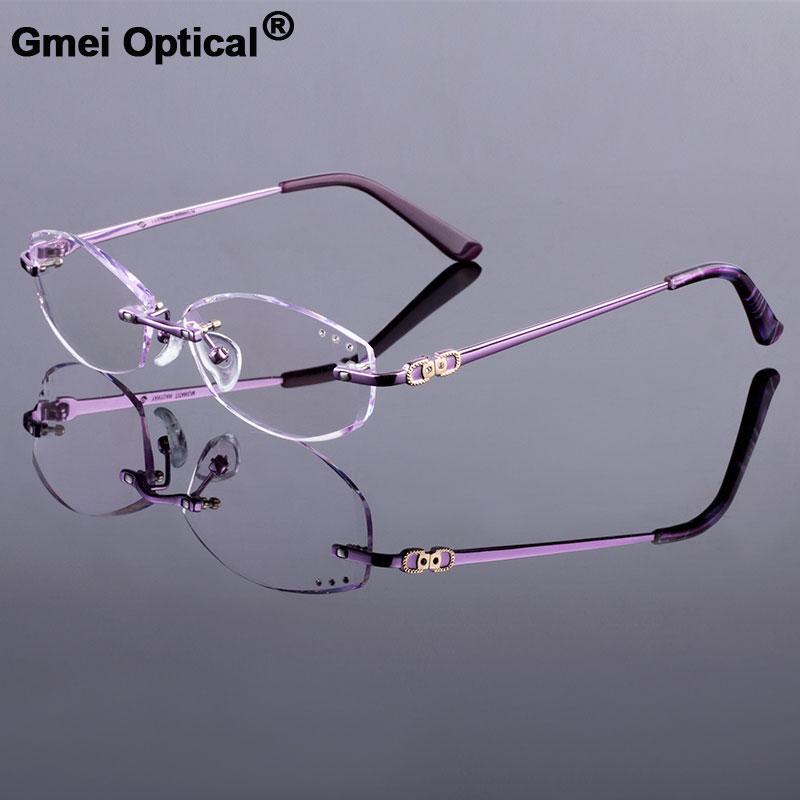 Voguish lunettes femmes marque prescription lunettes sans monture cadre optique lunettes mode lunettes Oculos de grau myopie cadre