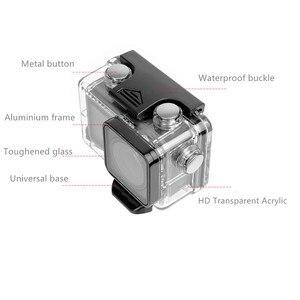 Image 3 - 60M custodia impermeabile macchina fotografica di azione diving custodia telaio di protezione della copertura per dji osmo Accessori macchina fotografica di azione