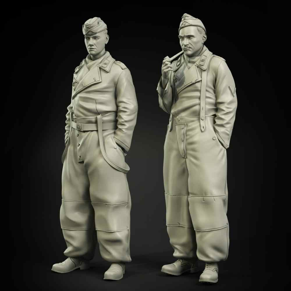 1/35 Resin Figuur Model Kit Unassambled Unpainted 00897