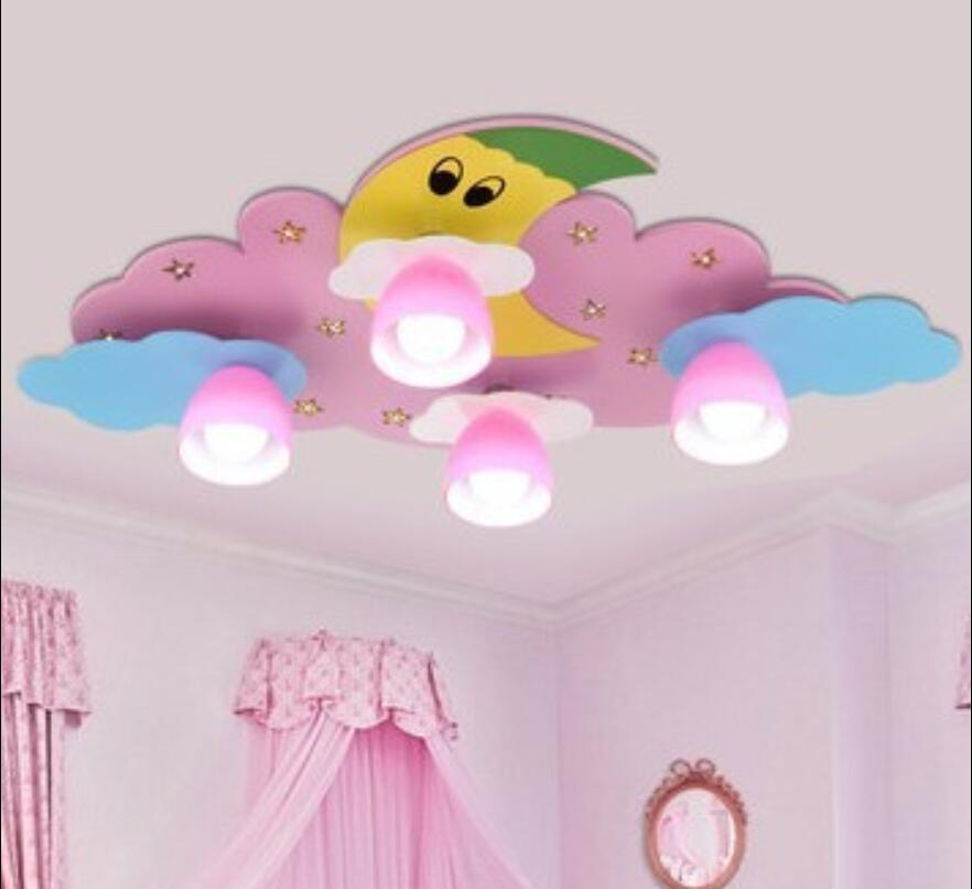 Children toy modern LED Moon Clouds Children Room Light room lamps and lanterns bedroom cartoon light sweet creative ET39