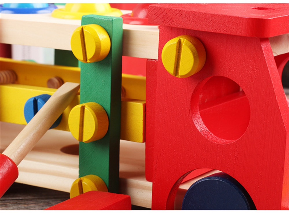 Wooden Assembly Toy Truck Puzzle 22