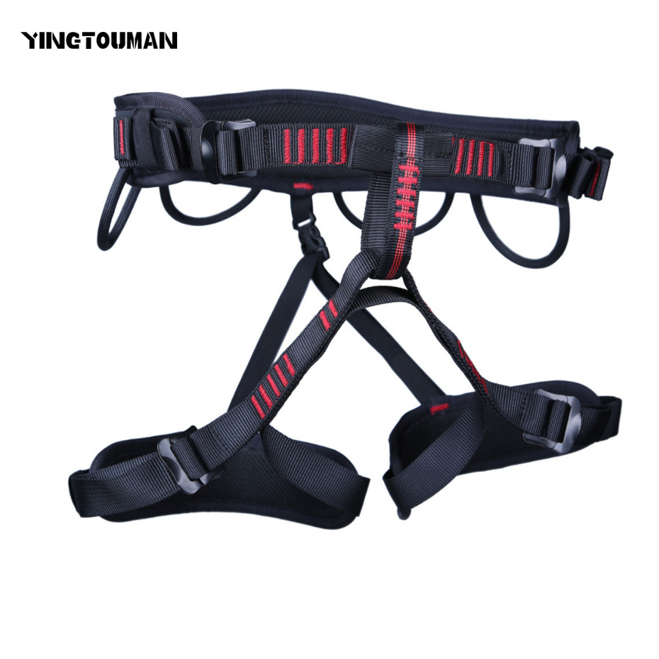 YINGTOUMAN Safety Belt Harnesses Outdoor Seat Belt Rock Climbing Mountaineering Belt Safety Belt Climbing Equipment new professional safety rock tree climbing rappelling harness seat sitting bust belt safety harness