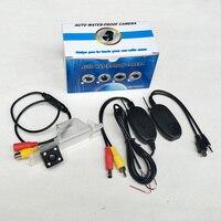 Wireless Auto Camera For Alfa Romeo 156 / 159 / 166 / 147 / CCD Night Vision Car Parking Rear View Camera / Rear view