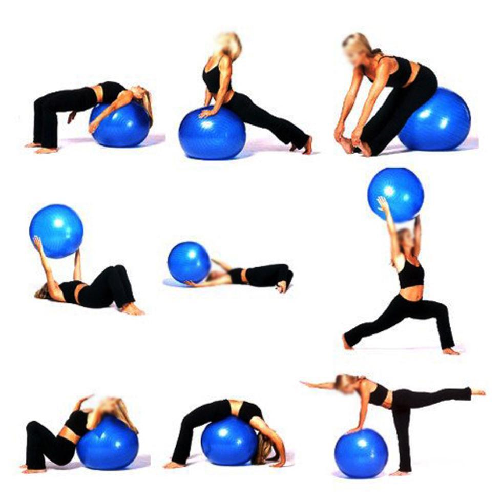 Top Livraison gratuite! Exercice aérobie boule pour GYM Yoga Pilates  GN09